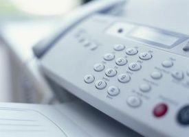 Come fax con una connessione a Internet via cavo