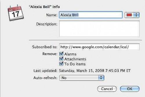 Come sincronizzare iCal con Google Calendar