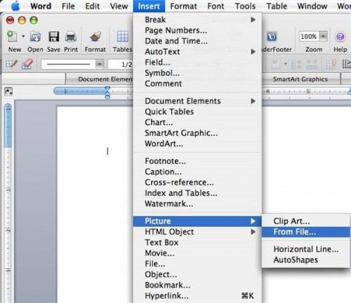 Come copiare file TIF in un documento Word