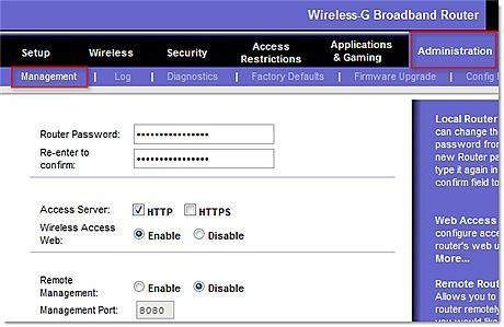 Come modificare il nome utente e password predefinite su un WRT54GL Router Linksys