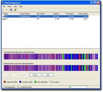 Come fare Disk deframmentazione in Windows 98