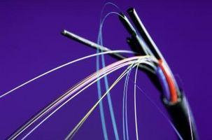 Come riparare un filo spezzato in fibra ottica