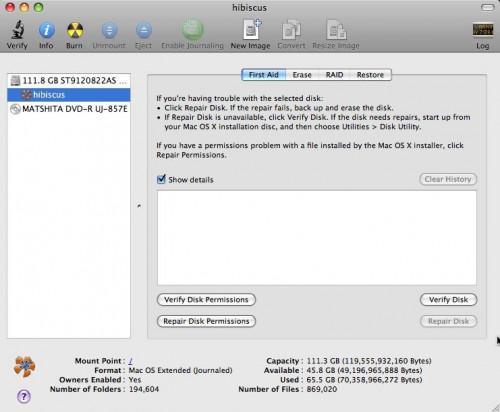Come formattare un disco in OS X Leopard