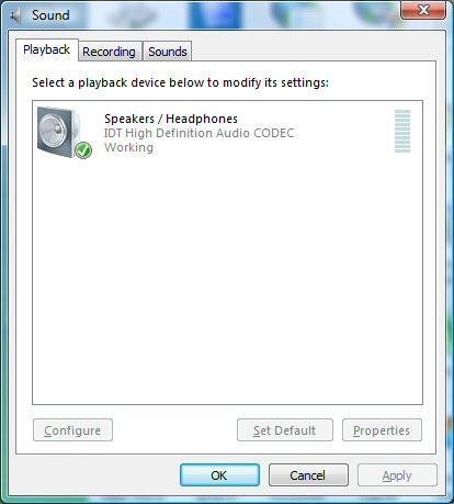 Come riattivare altoparlanti su un computer Windows Vista