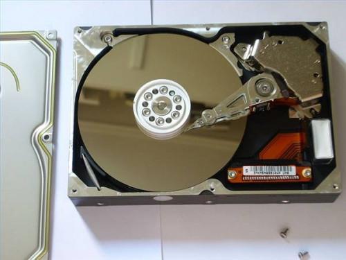 Come pulire un piatto disco rigido Disk