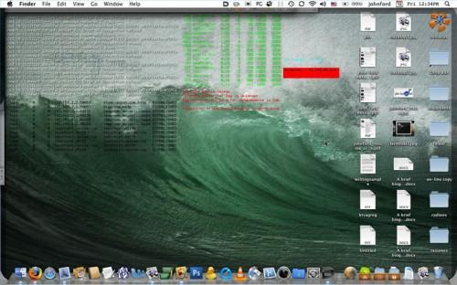 Come pulire un desktop su Mac OS X