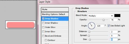 Fare pulsanti in Photoshop CS3