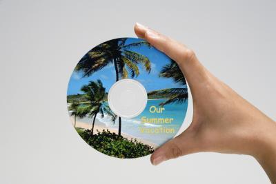 Come fare un adesivo CD & Label