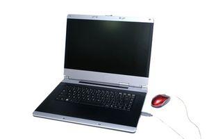 Come riparare un monitor incrinata su un computer portatile