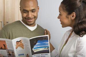 Come fare una brochure pieghevole a tre in InDesign