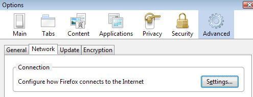 Come controllare le impostazioni proxy in Mozilla Firefox