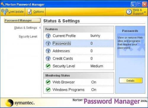 Come reinstallare Norton Password Manager