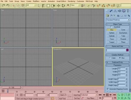 3ds Max Animazione Tutorial