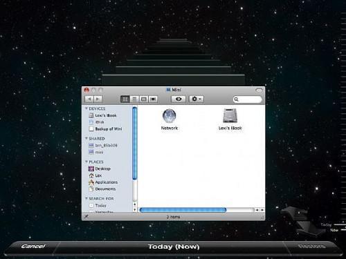 Come impostare Time Machine su Mac OSX 10.5 Leopard
