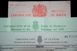Come ottenere un certificato di nascita North Carolina online