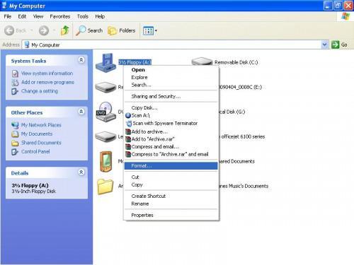 Come creare un disco di avvio di Windows XP