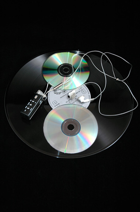 Come disco in vinile a CD con un giradischi digitale
