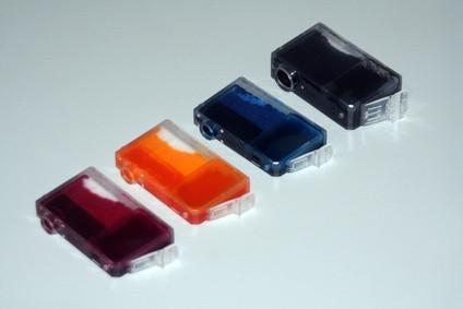 Che cosa è un getto d'inchiostro?
