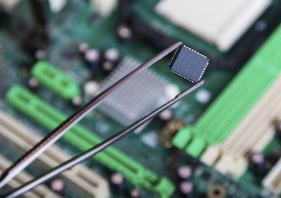Dove è la ROM chip Situato in un computer?