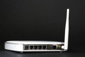 Come impostare una connessione internet Wi-Fi router con cavo