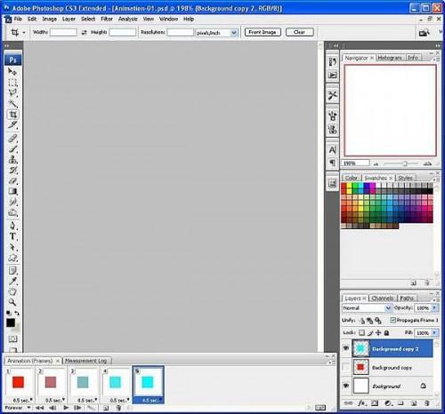 Come creare animazioni GIF in Photoshop CS3