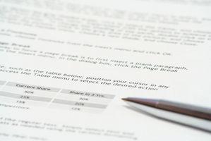 Come scrivere un rapporto online per vendere