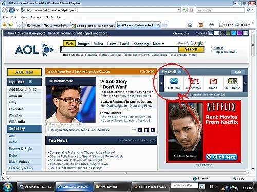 Come creare un account di posta elettronica AOL