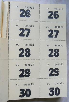 Come stampare biglietti numerati