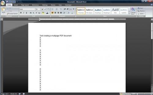 Come salvare un documento di Word in un documento Adobe