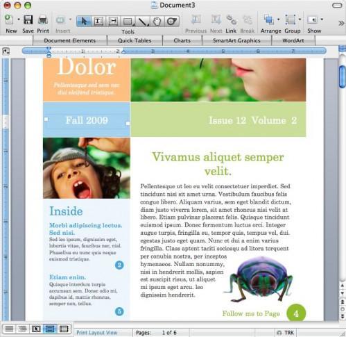 Usi per Microsoft Word