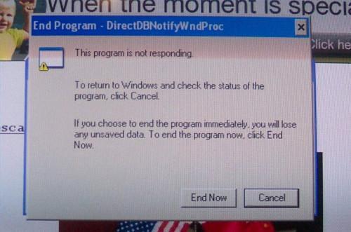 Come chiudere un programma congelata Computer