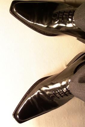 Come fare scarpe polacco Fuori manzo grasso